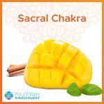 Sacral Chakra. Mango recipe.